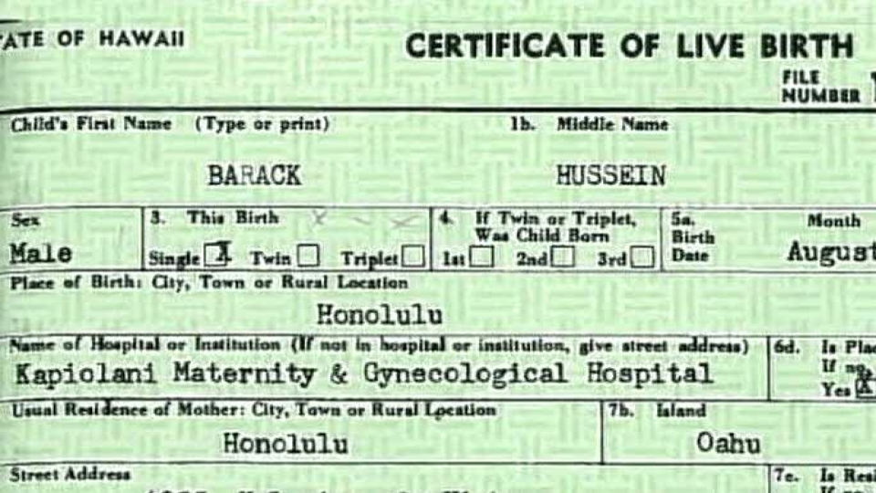 White House Obama Birth Certificate Related Keywords And Tags